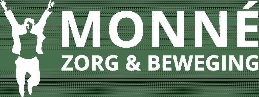 Logo - Monné Zorg & Beweging Breda wit